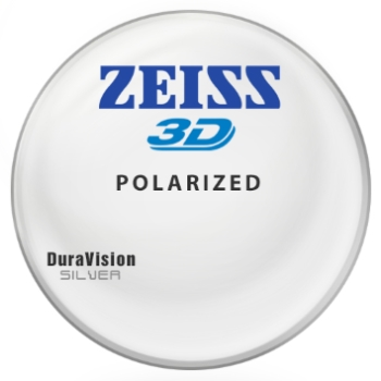 Zeiss® 3D Hi-Index 1.67 Polarized [Gray or Brown] W/ Zeiss DuraVision Silver AR Lenses